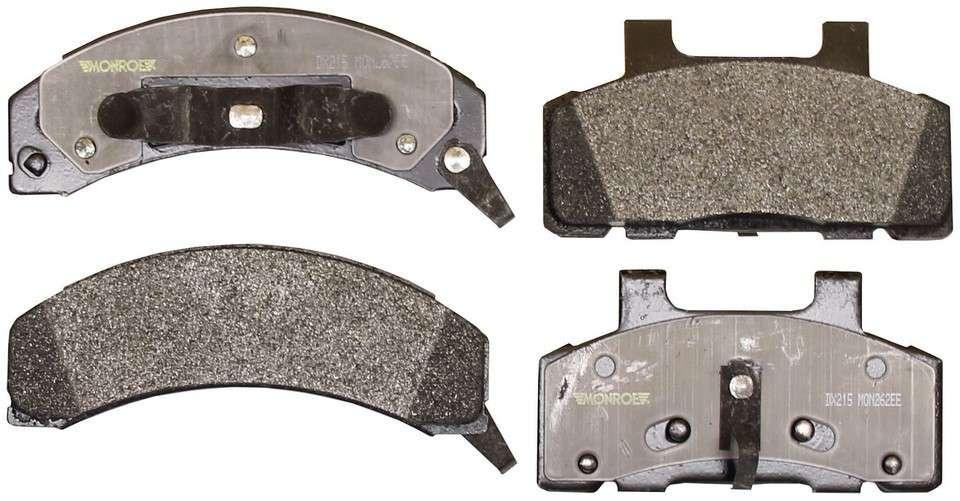 MONROE TOTAL SOLUTION BRAKE PADS - Monroe Total Solution Semi-Metallic Brake Pads - M91 DX215