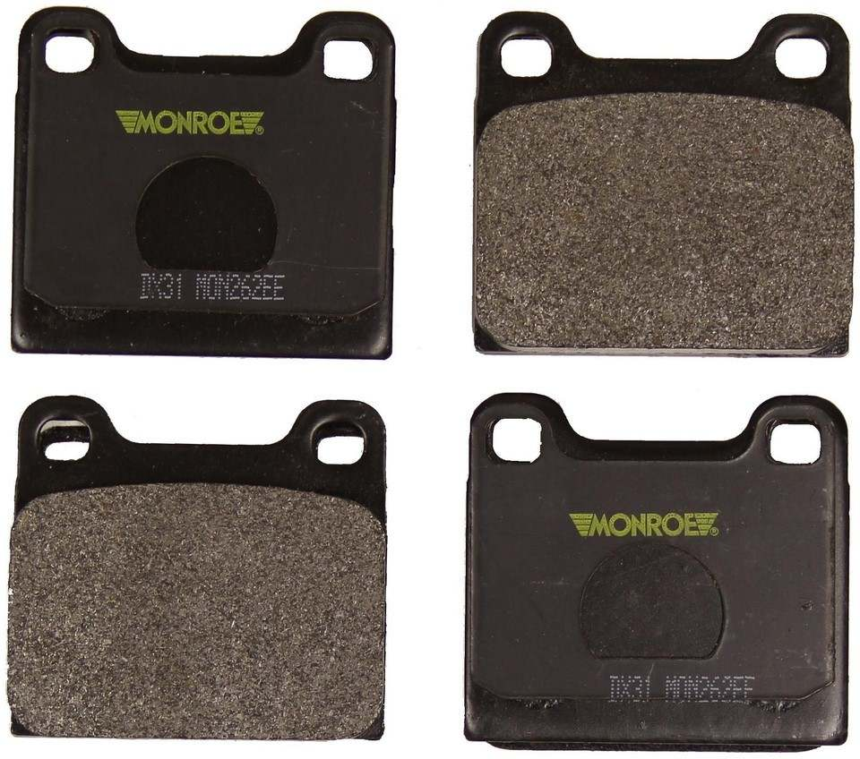 MONROE TOTAL SOLUTION BRAKE PADS - Monroe Total Solution Semi-Metallic Brake Pads - M91 DX31