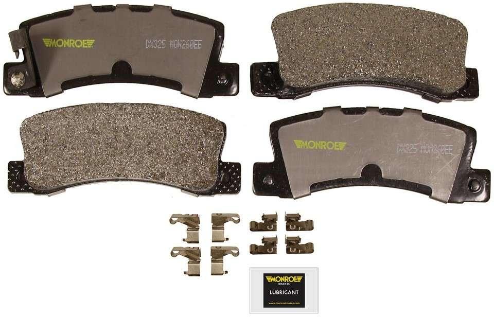 MONROE TOTAL SOLUTION BRAKE PADS - Monroe Total Solution Semi-Metallic Brake Pads - M91 DX325