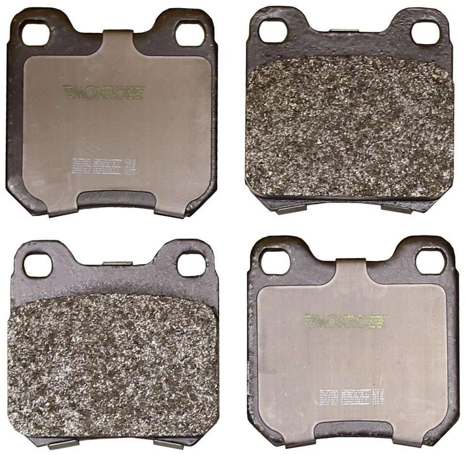 MONROE TOTAL SOLUTION BRAKE PADS - Monroe Total Solution Semi-Metallic Brake Pads (Rear) - M91 DX709
