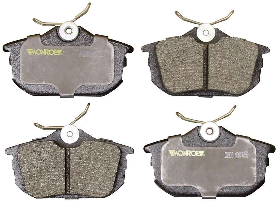 MONROE TOTAL SOLUTION BRAKE PADS - Monroe Total Solution Semi-Metallic Brake Pads (Rear) - M91 DX838