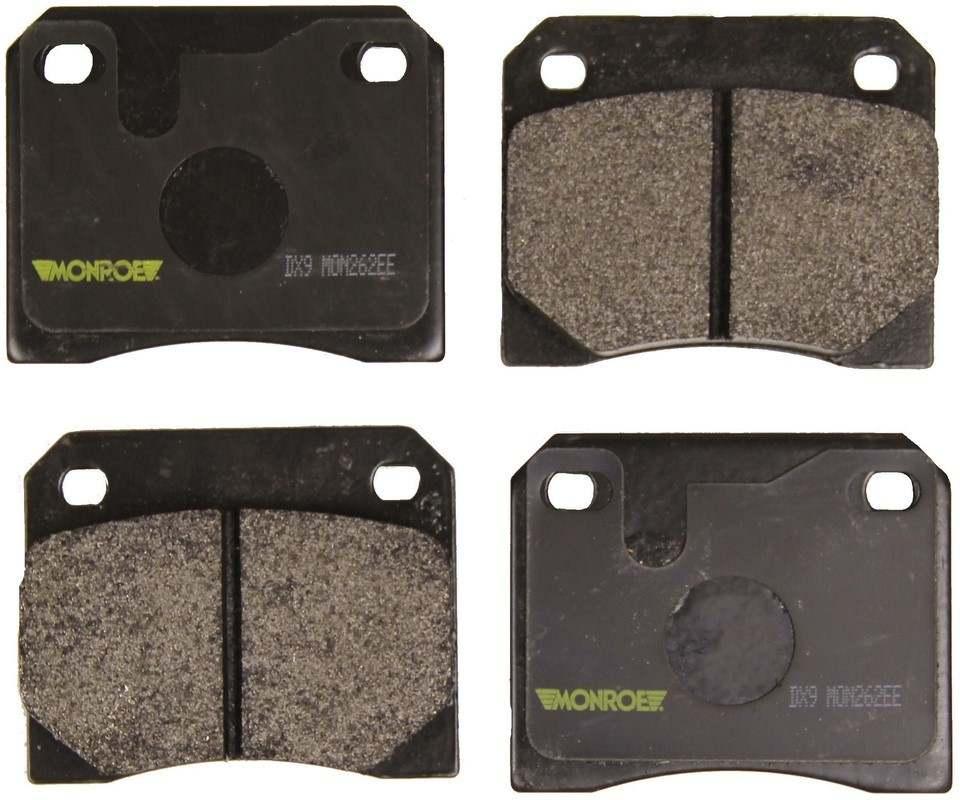 MONROE TOTAL SOLUTION BRAKE PADS - Monroe Total Solution Semi-Metallic Brake Pads (Rear) - M91 DX9