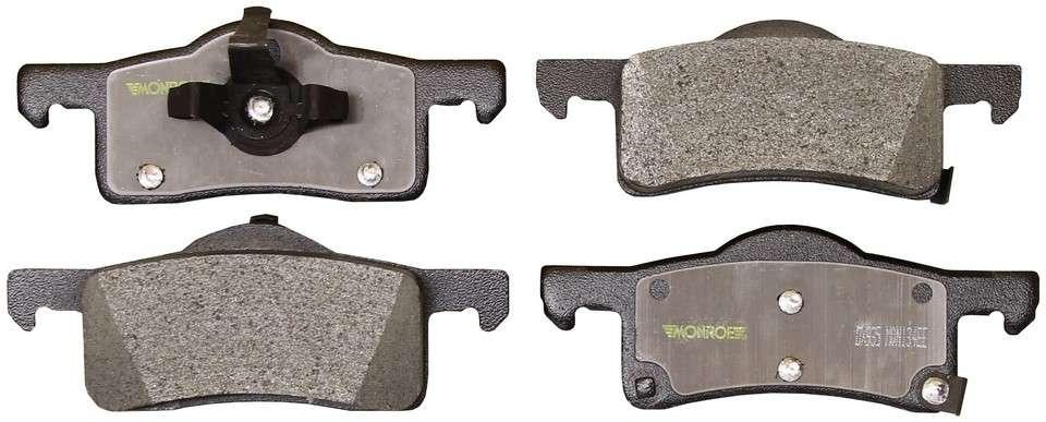 MONROE TOTAL SOLUTION BRAKE PADS - Monroe Total Solution Semi-Metallic Brake Pads (Rear) - M91 DX935
