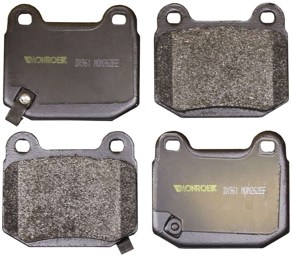 MONROE TOTAL SOLUTION BRAKE PADS - Monroe Total Solution Semi-Metallic Brake Pads (Rear) - M91 DX961
