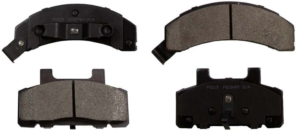 MONROE PROSOLUTION BRAKE PADS - ProSolution Semi-Metallic Brake Pads - M92 FX215