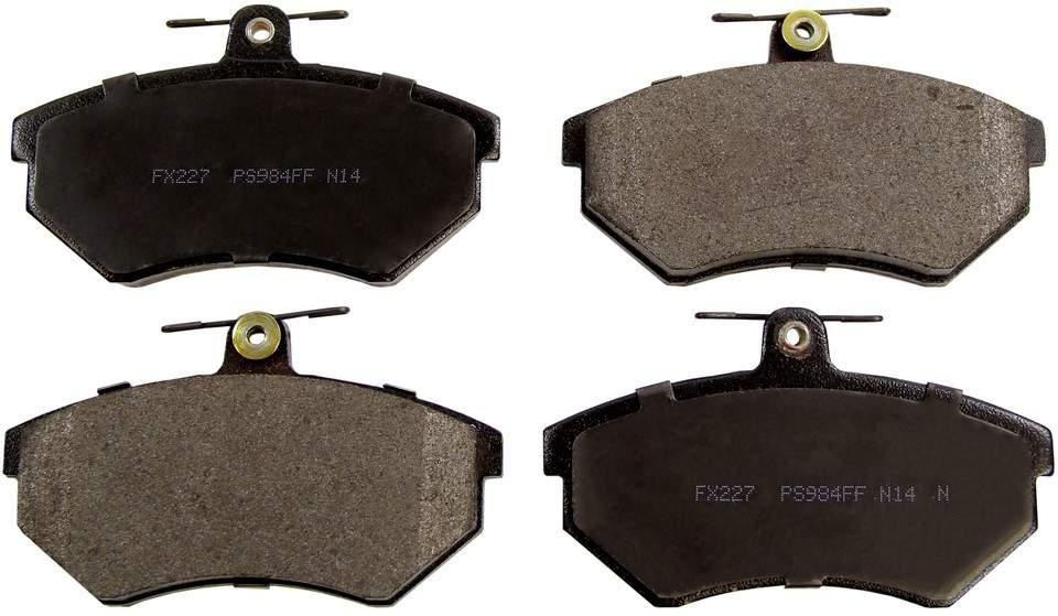 MONROE PROSOLUTION BRAKE PADS - ProSolution Semi-Metallic Brake Pads - M92 FX227