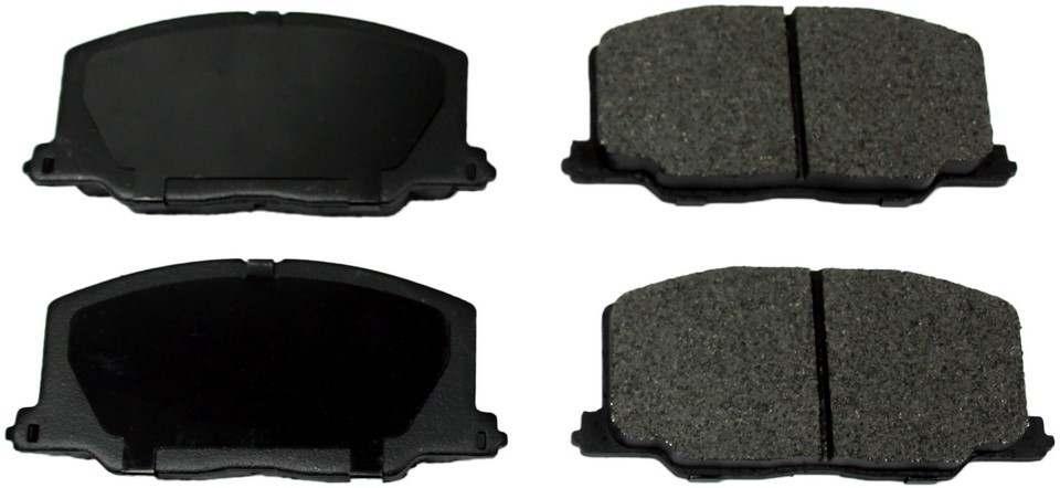 MONROE PROSOLUTION BRAKE PADS - ProSolution Semi-Metallic Brake Pads (Front) - M92 FX356