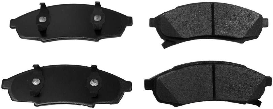 MONROE PROSOLUTION BRAKE PADS - ProSolution Semi-Metallic Brake Pads (Front) - M92 FX376