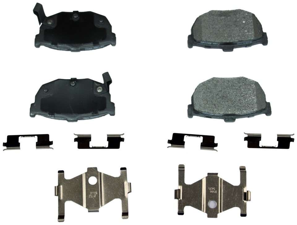 MONROE PROSOLUTION BRAKE PADS - ProSolution Semi-Metallic Brake Pads - M92 FX464