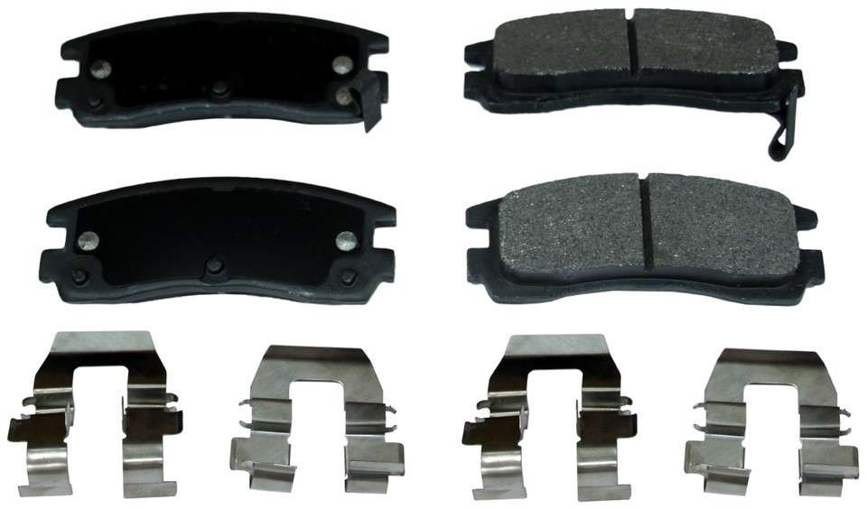 MONROE PROSOLUTION BRAKE PADS - ProSolution Semi-Metallic Brake Pads - M92 FX508