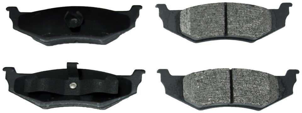 MONROE PROSOLUTION BRAKE PADS - ProSolution Semi-Metallic Brake Pads (Rear) - M92 FX658
