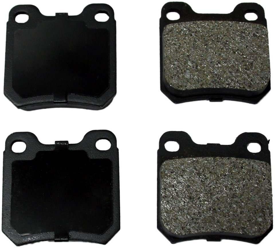 MONROE PROSOLUTION BRAKE PADS - ProSolution Semi-Metallic Brake Pads (Rear) - M92 FX709
