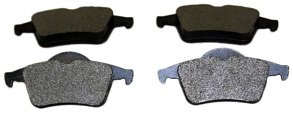 MONROE PROSOLUTION BRAKE PADS - ProSolution Semi-Metallic Brake Pads (Rear) - M92 FX795