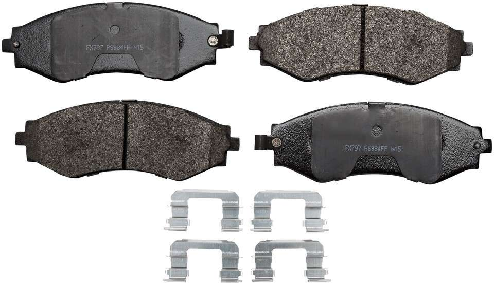 MONROE PROSOLUTION BRAKE PADS - ProSolution Semi-Metallic Brake Pads - M92 FX797