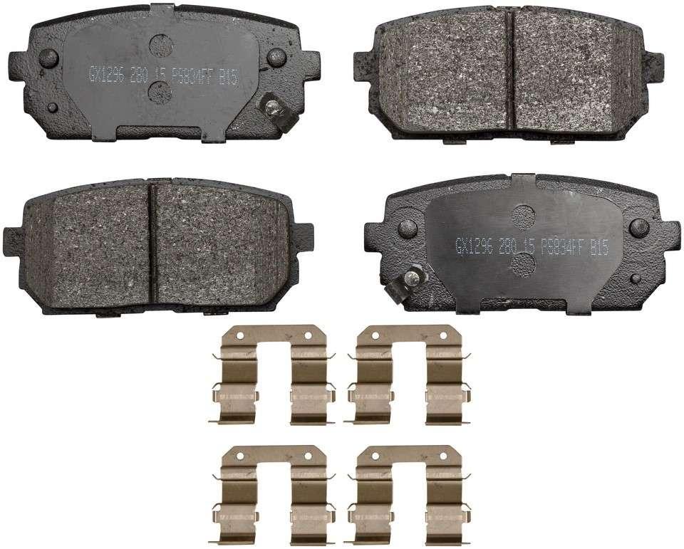 MONROE PROSOLUTION BRAKE PADS - ProSolution Ceramic Brake Pads - M92 GX1296