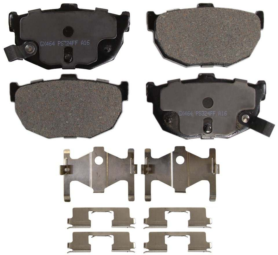 MONROE PROSOLUTION BRAKE PADS - ProSolution Ceramic Brake Pads (Rear) - M92 GX464