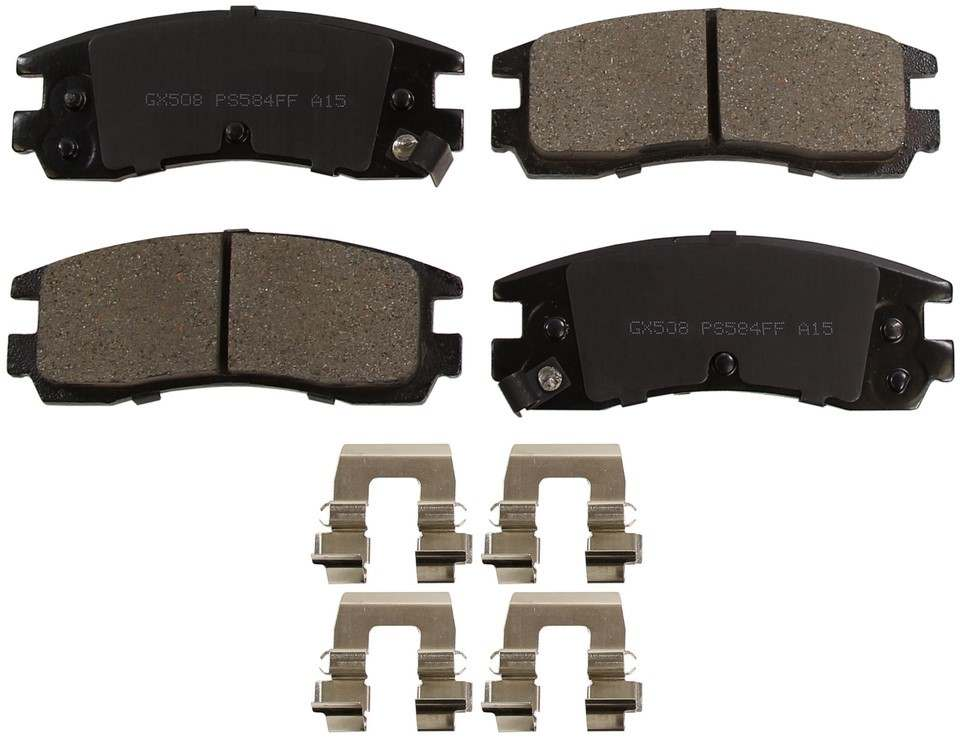 MONROE PROSOLUTION BRAKE PADS - ProSolution Ceramic Brake Pads - M92 GX508