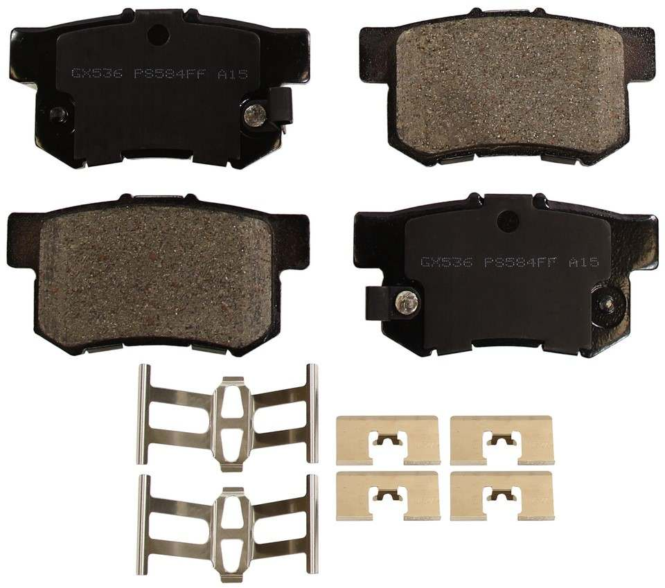 MONROE PROSOLUTION BRAKE PADS - ProSolution Ceramic Brake Pads - M92 GX536