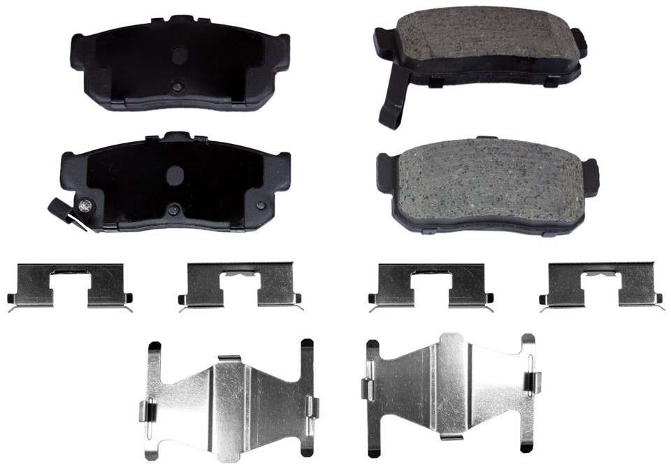 MONROE PROSOLUTION BRAKE PADS - ProSolution Ceramic Brake Pads - M92 GX540