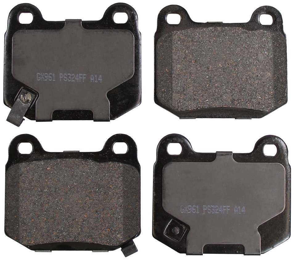 MONROE PROSOLUTION BRAKE PADS - ProSolution Ceramic Brake Pads - M92 GX961
