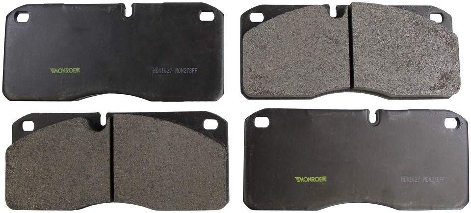 MONROE SEVERE SOLUTION BRAKE PADS - Monroe Brakes Severe Solution Brake Pads - M93 HDX1027