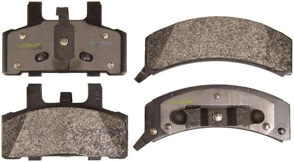 MONROE SEVERE SOLUTION BRAKE PADS - Monroe Brakes Severe Solution Brake Pads - M93 HDX369