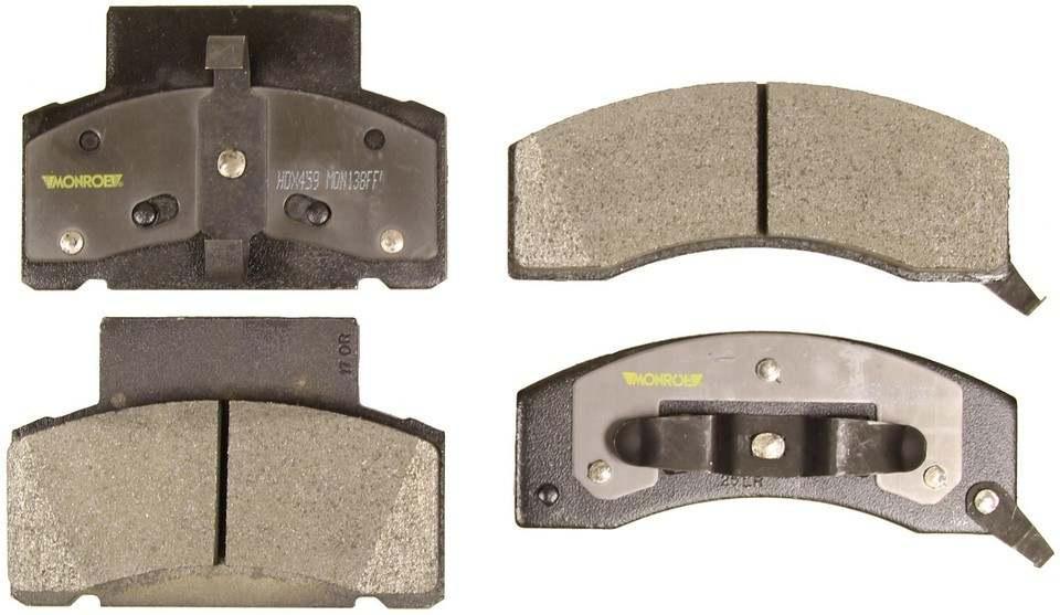 MONROE SEVERE SOLUTION BRAKE PADS - Monroe Brakes Severe Solution Brake Pads - M93 HDX459