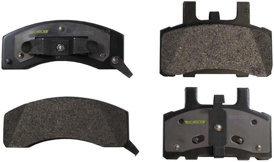 MONROE SEVERE SOLUTION BRAKE PADS - Monroe Brakes Severe Solution Brake Pads - M93 HDX845