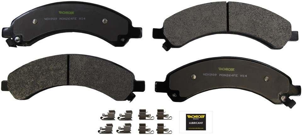 MONROE SEVERE SOLUTION BRAKE PADS - Monroe Brakes Severe Solution Brake Pads - M93 HDX989