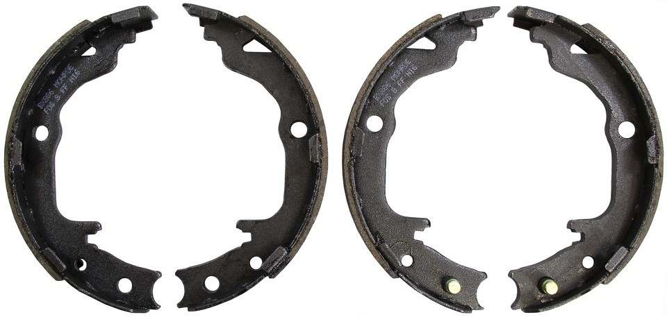 MONROE BRAKE SHOES - Monroe Parking Brake Shoes (Rear) - M94 BX886