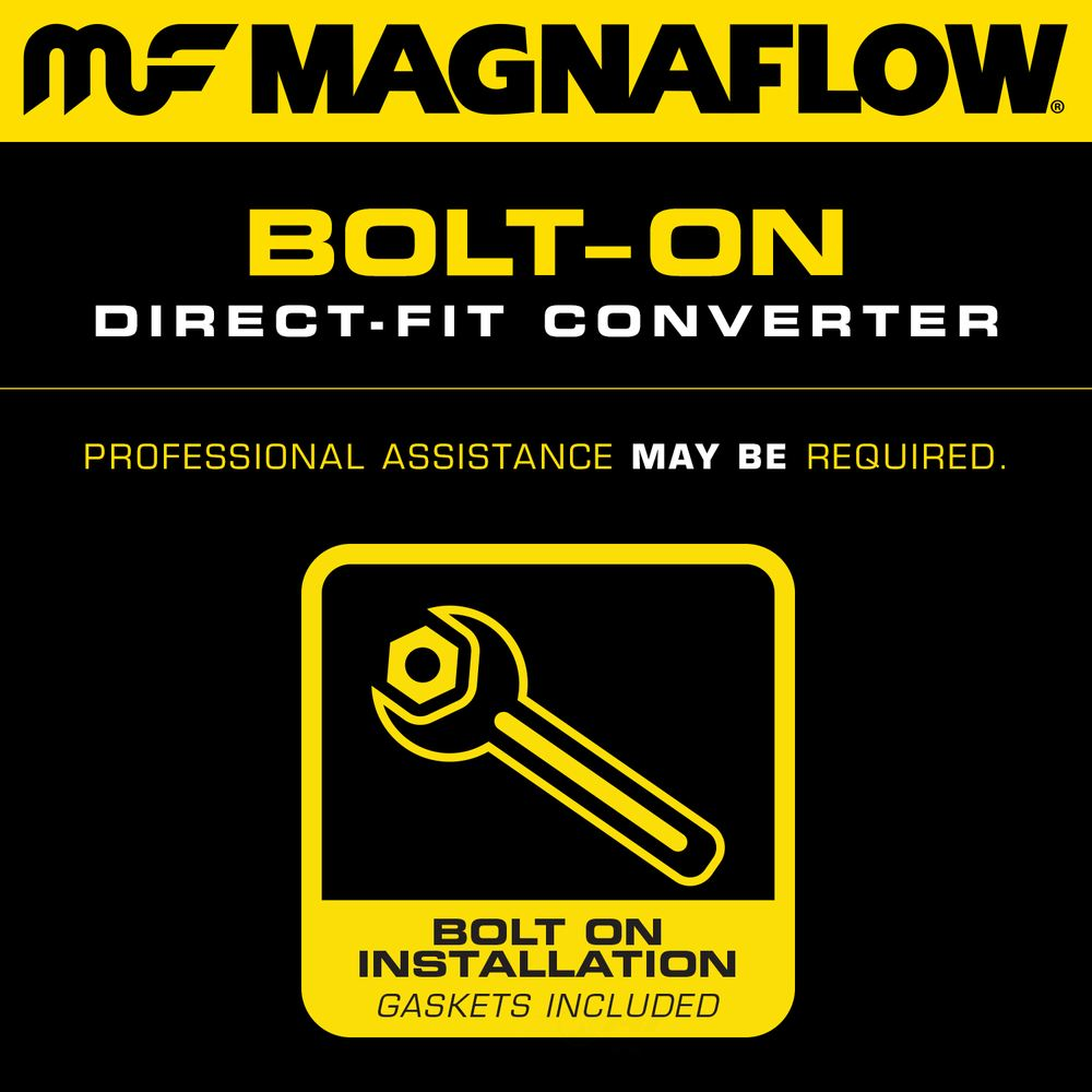 MAGNAFLOW CARB COMPLIANT CONVERTER - Direct-fit California OBDII Converters (Front) - MFC 452096