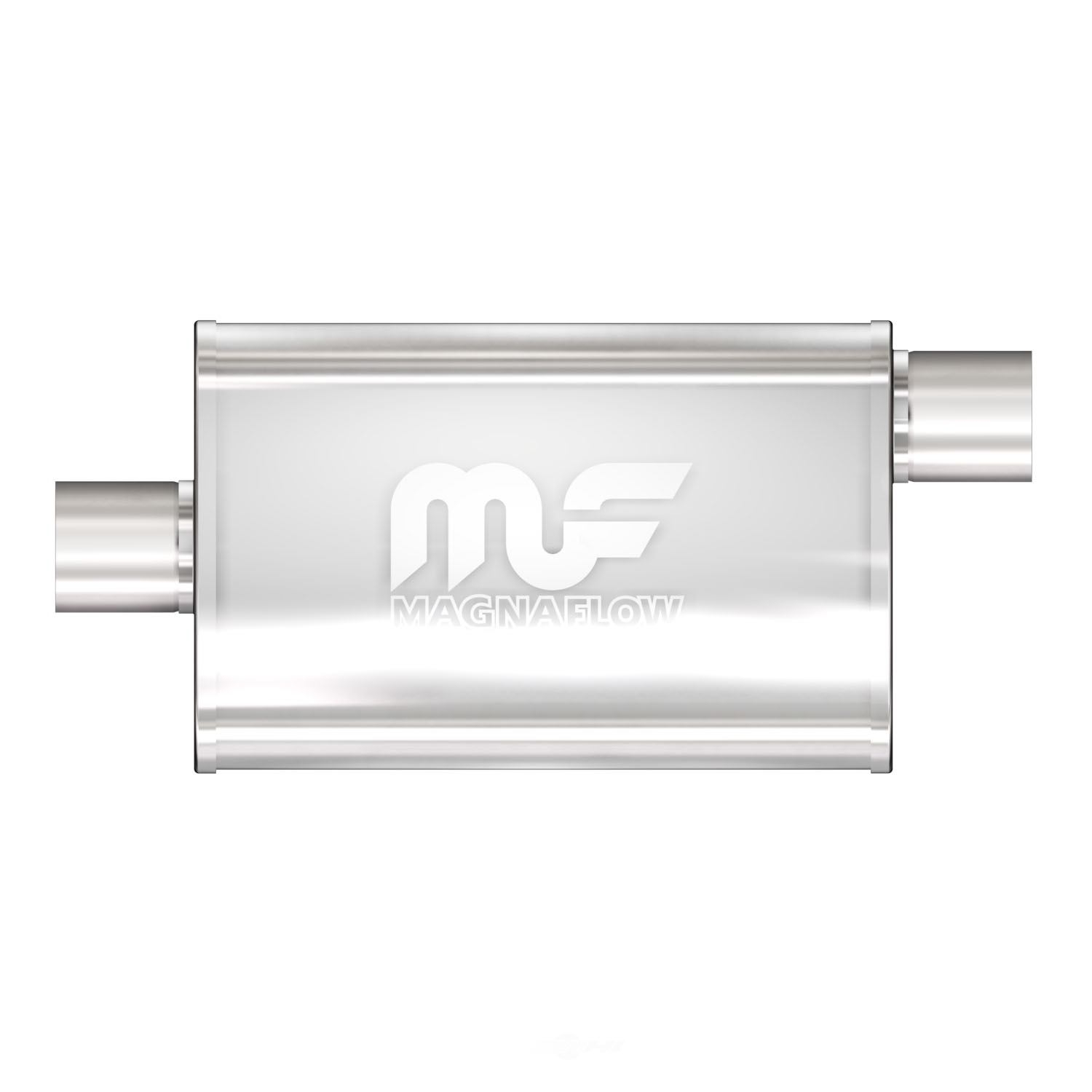MAGNAFLOW PERF. EXHAUST - Satin Finish Oval Exhaust Muffler - MGF 11226