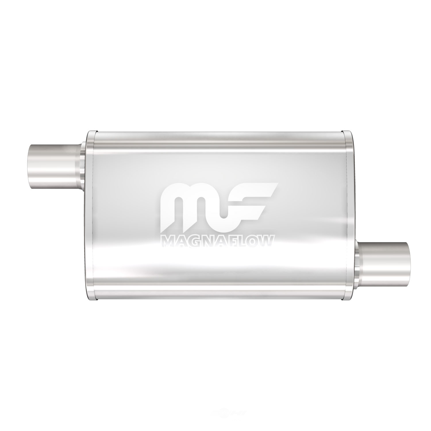 MAGNAFLOW PERF. EXHAUST - Satin Finish Oval Exhaust Muffler - MGF 11236