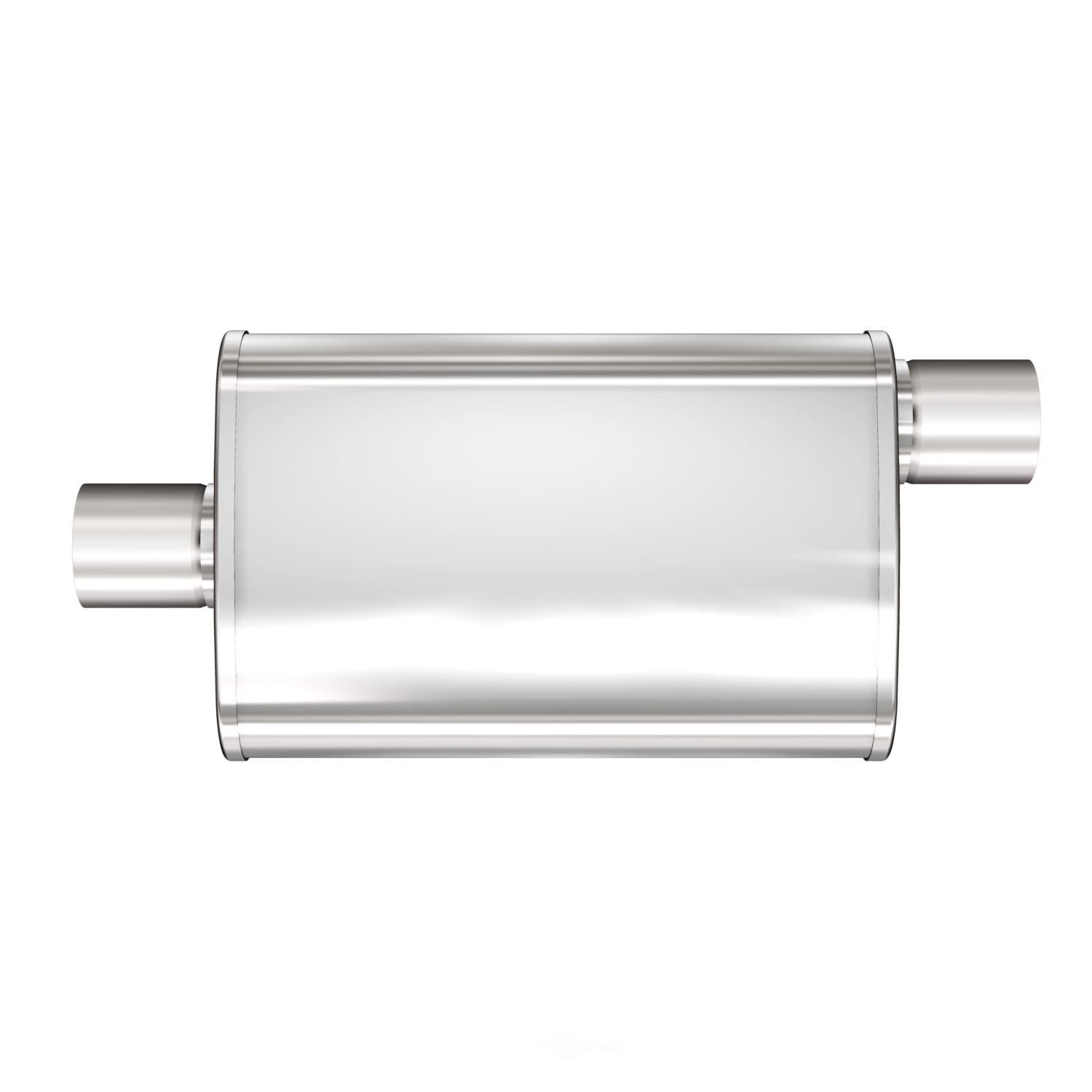 MAGNAFLOW PERF. EXHAUST - XL Satin Finish Oval Exhaust Muffler - MGF 13256