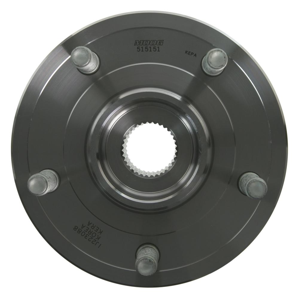 MOOG HUB ASSEMBLIES - MOOG Hub Assemblies Wheel Bearing and Hub Assembly (Front) - MGH 515151