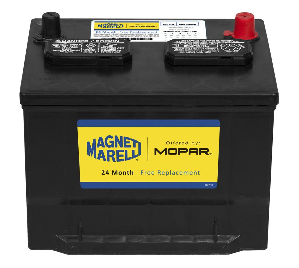 MAGNETI MARELLI OFFERED BY MOPAR - Vehicle Battery - MGM 1AM0059590