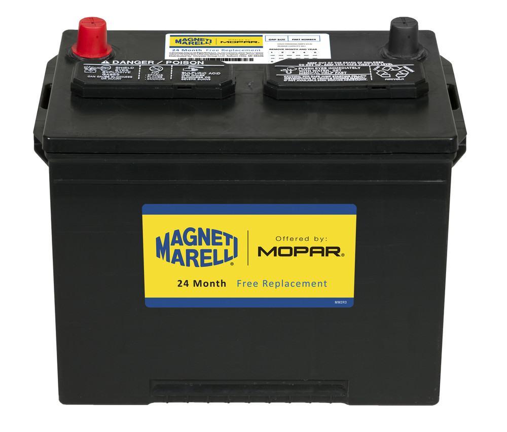 MAGNETI MARELLI OFFERED BY MOPAR - Magneti Marelli Battery - MGM 1AM024F700