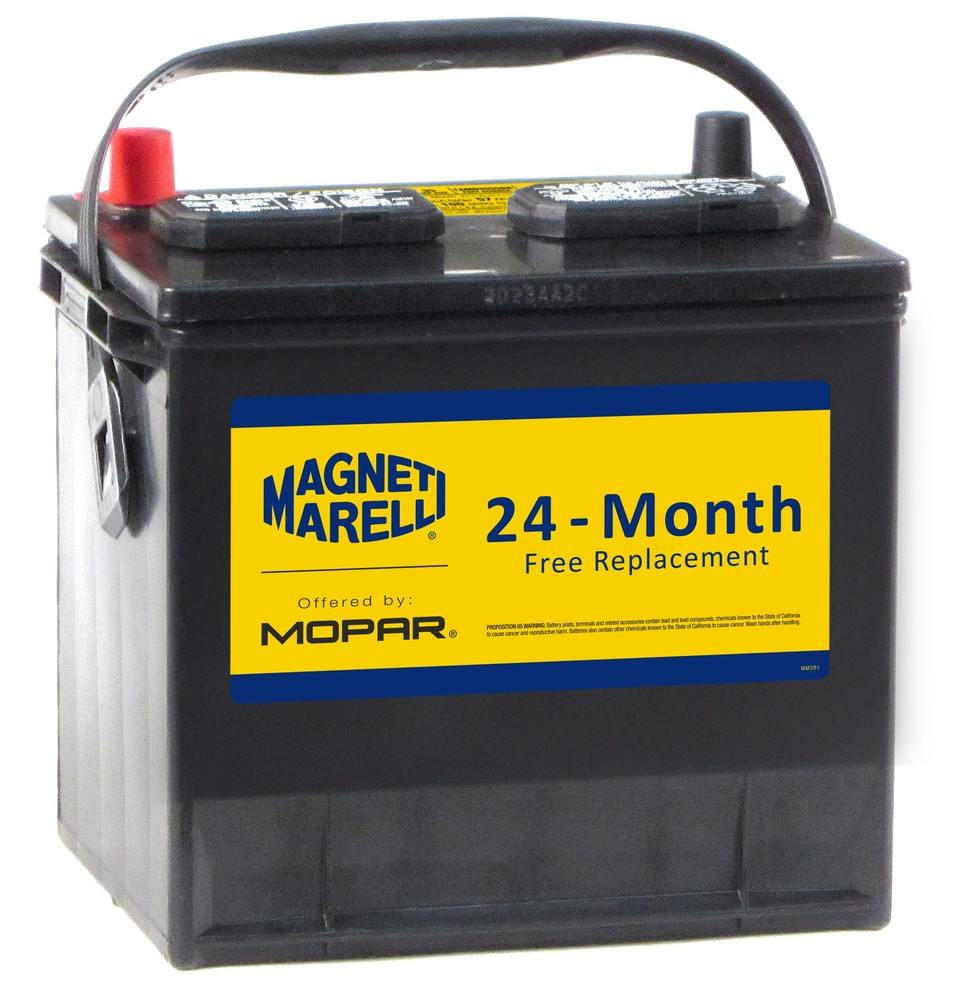 MAGNETI MARELLI OFFERED BY MOPAR - Vehicle Battery - MGM 1AM035550A