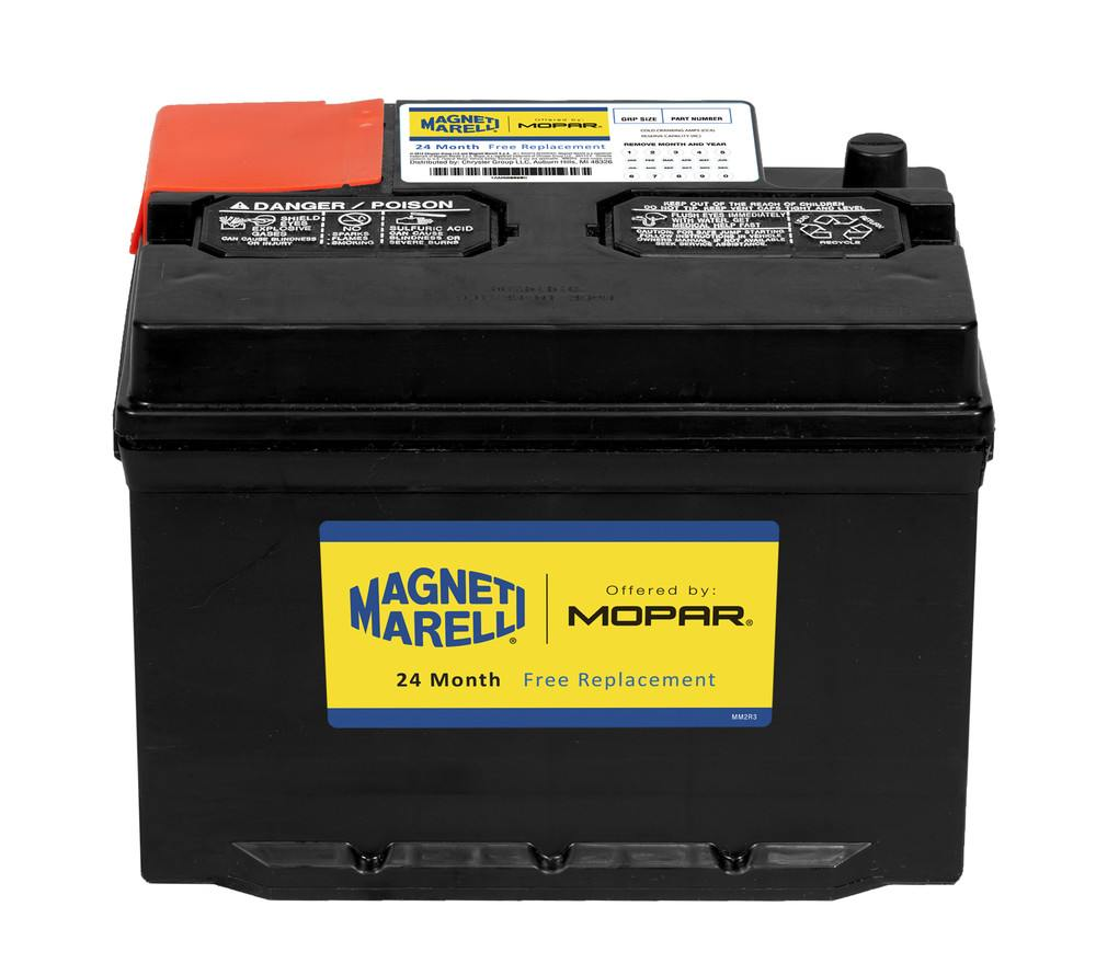 magneti marelli offered by mopar vehicle battery part number 1am096r590. Black Bedroom Furniture Sets. Home Design Ideas