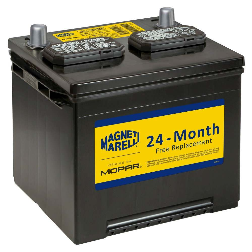 MAGNETI MARELLI OFFERED BY MOPAR - Vehicle Battery - MGM 1AM260575A