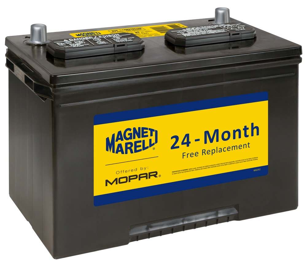 MAGNETI MARELLI OFFERED BY MOPAR - Vehicle Battery - MGM 1AM270710A
