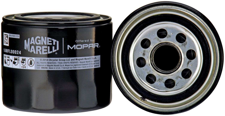 MAGNETI MARELLI OFFERED BY MOPAR - Engine Oil Filter - MGM 1AMFL00024