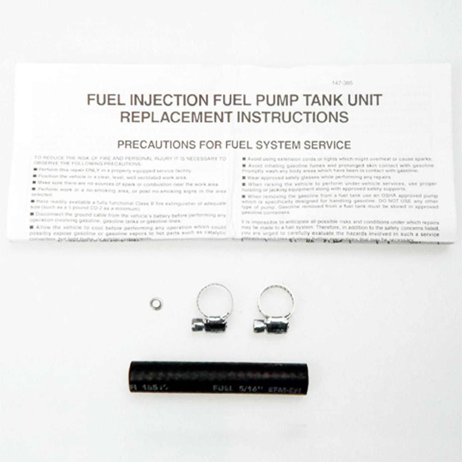MAGNETI MARELLI OFFERED BY MOPAR - Electric Fuel Pump - MGM 1AMFP00089