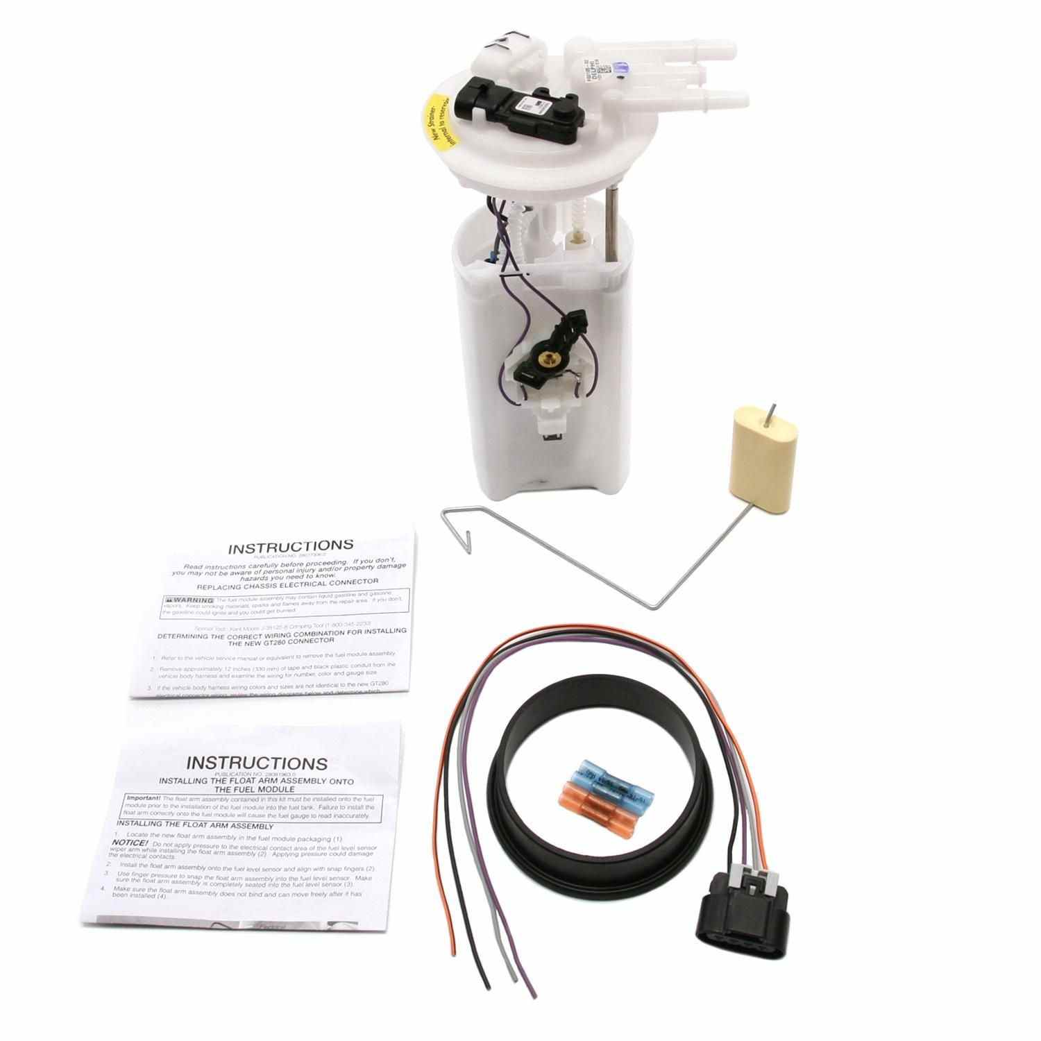 Magneti Marelli Offered By Mopar Fuel Pump Module Assembly Part Electric Installation Instructions