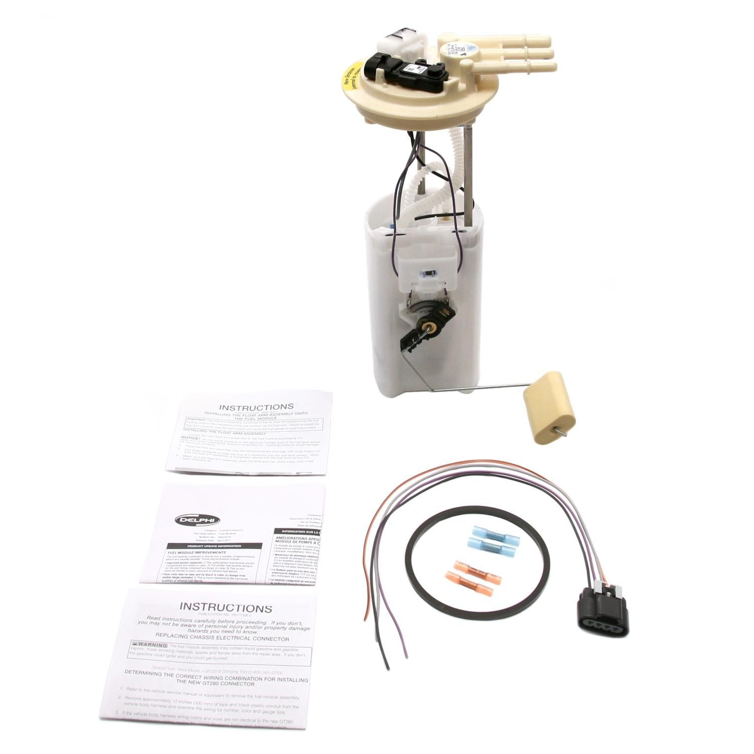 MAGNETI MARELLI OFFERED BY MOPAR - Fuel Pump Module Assembly - MGM 1AMFP00156