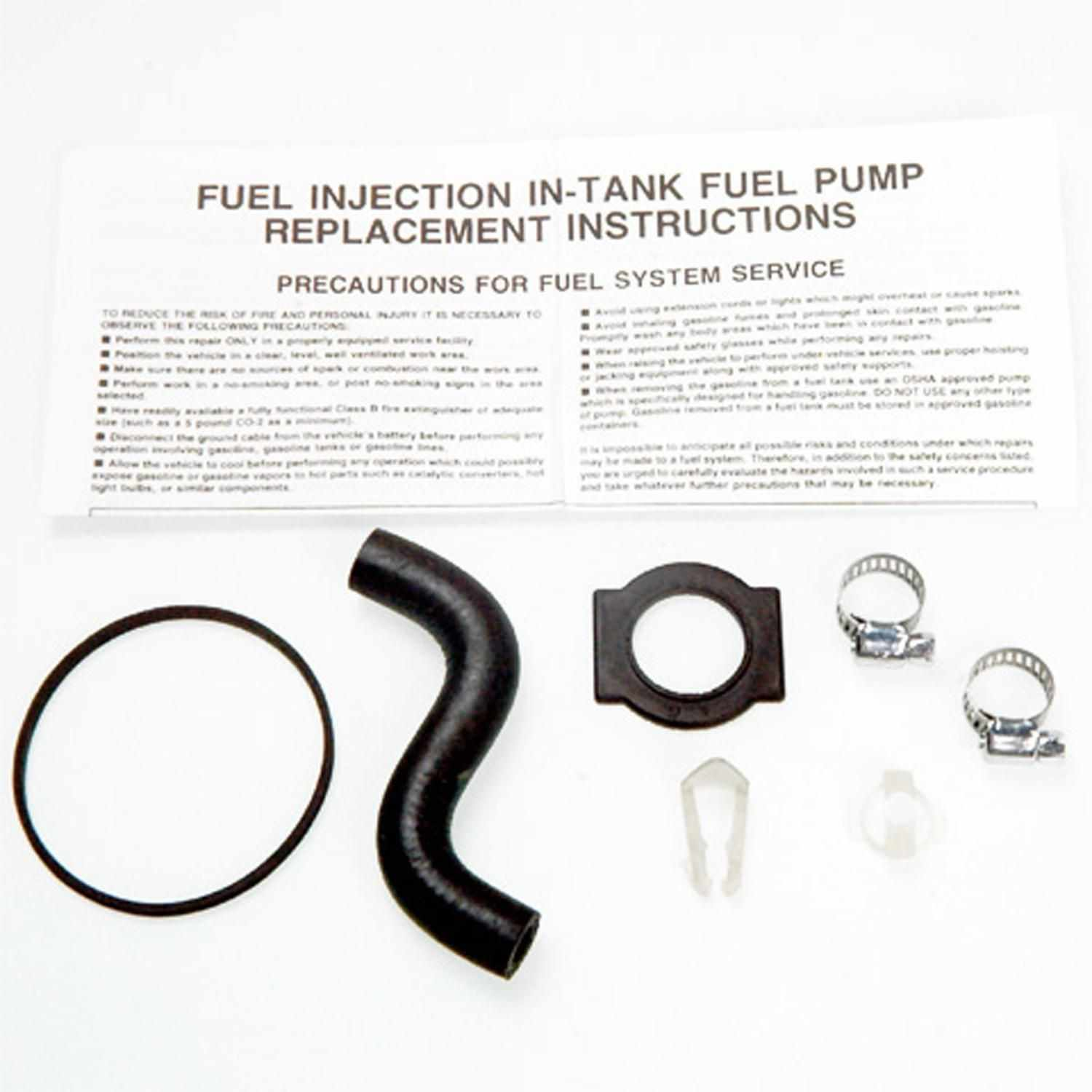 Magneti Marelli Offered By Mopar Electric Fuel Pump Part Number Installation Instructions