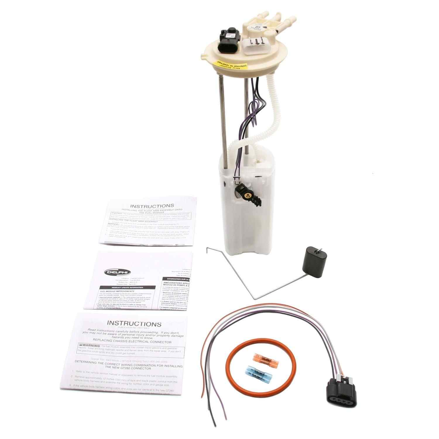 MAGNETI MARELLI OFFERED BY MOPAR - Fuel Pump Module Assembly - MGM 1AMFP00168