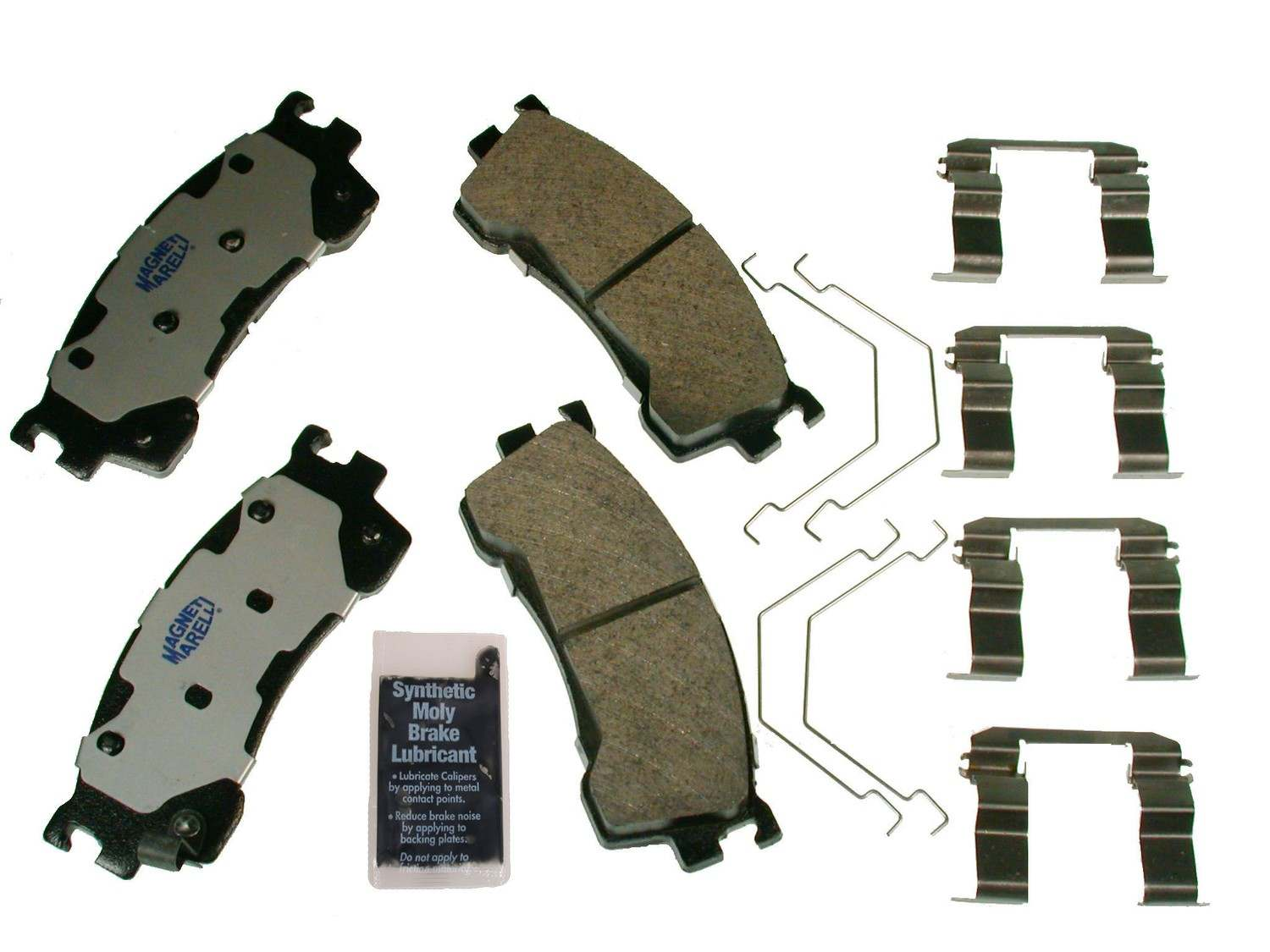 MAGNETI MARELLI OFFERED BY MOPAR - Metallic Disc Brake Pad (Front) - MGM 1AMV100637