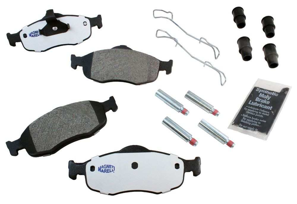 MAGNETI MARELLI OFFERED BY MOPAR - Metallic Disc Brake Pad (Front) - MGM 1AMV100648