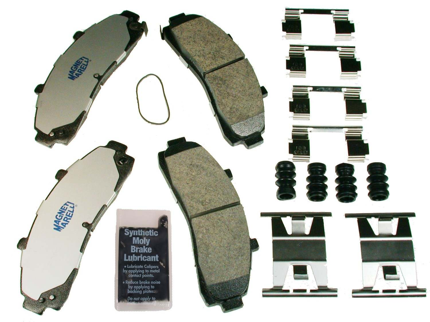 MAGNETI MARELLI OFFERED BY MOPAR - Metallic Disc Brake Pad (Front) - MGM 1AMV100652